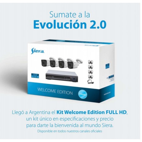 Kit Welcome Edicion Siera de camaras